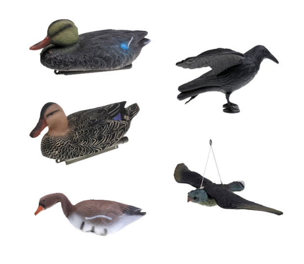 Outdoor Shooting Hunting Target Decoy Goose/Duck/Crow Garden Lawn Decor Scarer Hunting Decoy for Camping Hunting Tactical Access