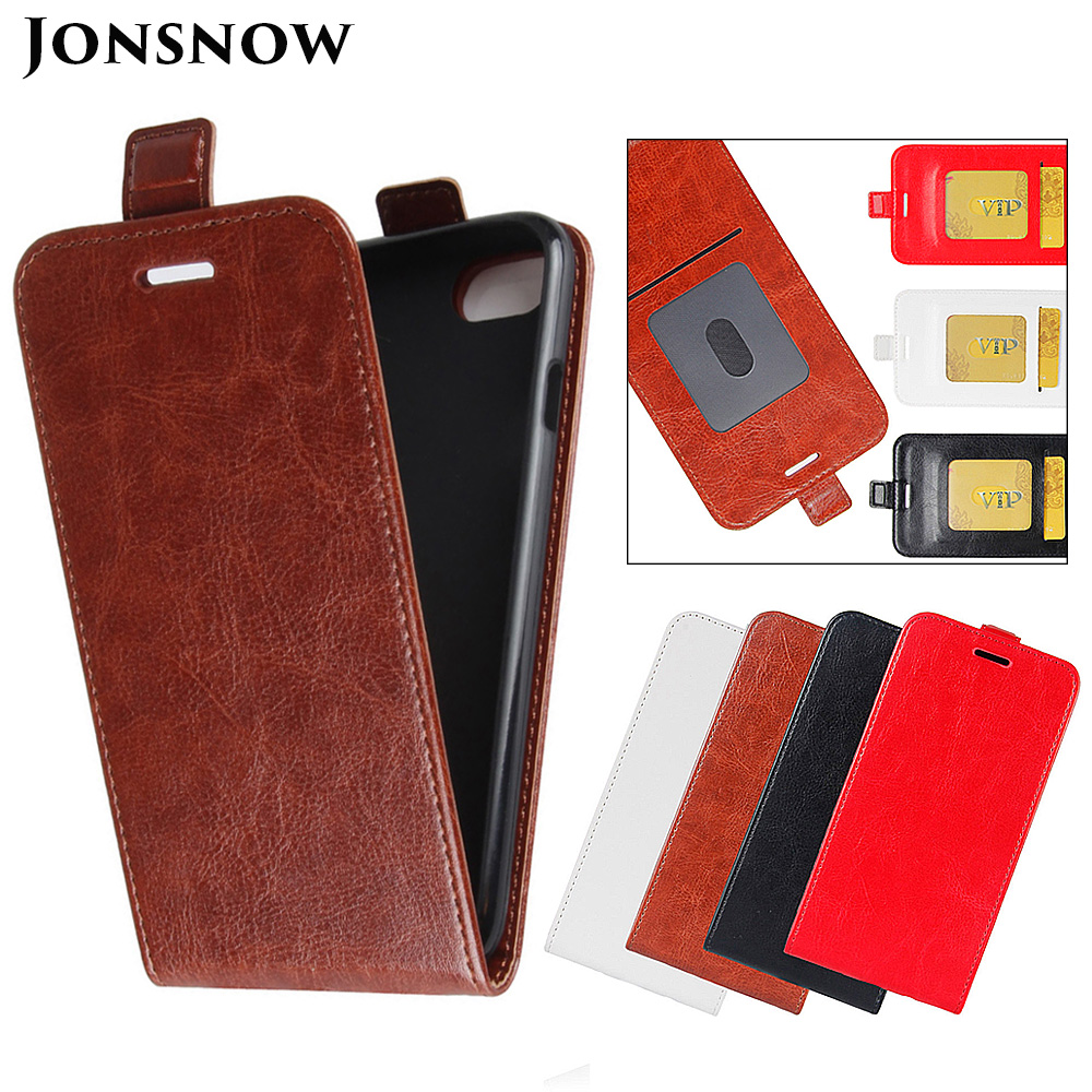 JONSNOW Flip Leather Case For IPhone 6S 7 8 Plus Phone Cover For IPhone X XR XS Max Flip Holster With Card Slot Capa Fundas