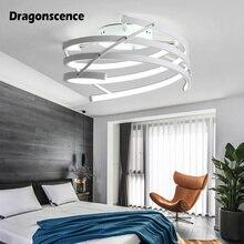 цены Dragonsc Modern Led Ceiling Lights New design Ceiling Lamp for Living Room Flush Mount Indoor Lighting Bedroom Kitchen Bathroom