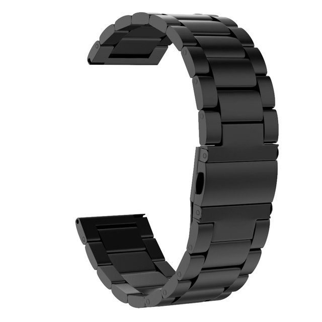seleccione para el más nuevo mejor elección precio al por mayor Pulsera de malla milanesa 20mm conjunto banda acero inoxidable para Samsung  Galaxy Watch activo LSMK99