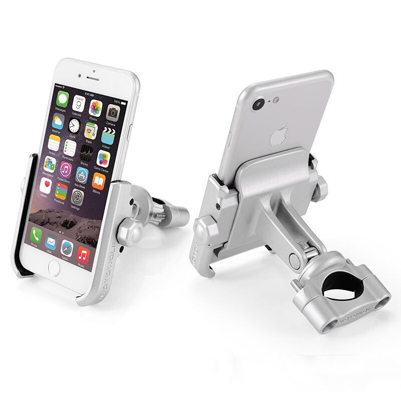 Aluminum Alloy Motorcycle Phone Stand Holder For iPhoneX 8 7 6s Support Telephone Moto Bracket For GPS Bike Handlebar Holder