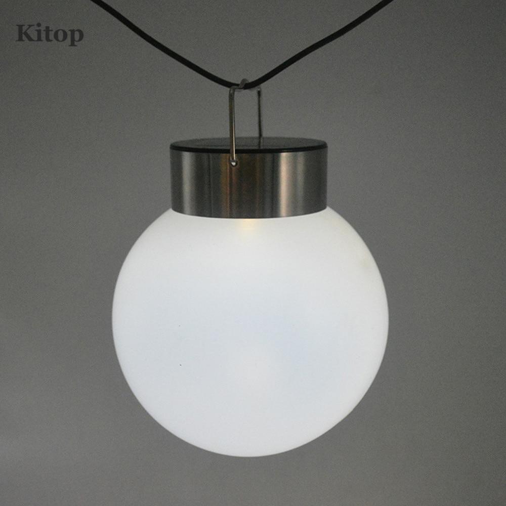 Kitop Outdoor Decorative Hanging Lights Solar Power