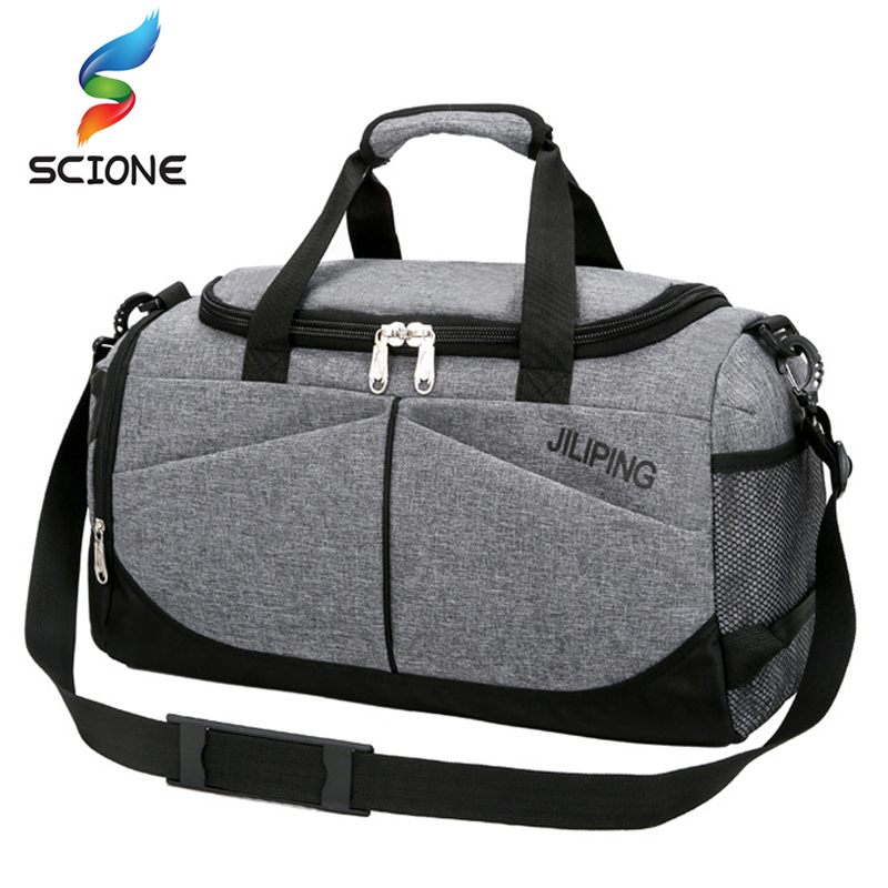 755d2edc787e Hot Waterproof Men s Sports Gym Bag Women Travel Handbag Large Outdoor Tote  Luggage Yoga For Fitness