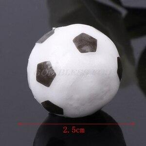 Image 5 - 6 ピース/セットサッカーボールサッカー誕生日パーティー子供ケーキ装飾用品ドロップ無料