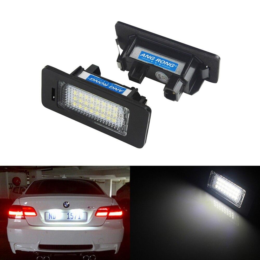 2 BMW Licence Number Plate LED Light White E39 E60 E61 M5 F10 F11 F25 E84 OEM UK