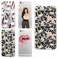 Sexy MakeUp Lips Lipstick Kylie Jenner Cosmetics Soft Phone Case Fundas For iPhone 7 7Plus 6 6S 6Plus 5 5S SE 5C 4 4S  SAMSUNG