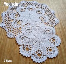 HOT cotton table place mat crochet coffee round Lace placemat pad Christmas glass drink coaster cup mug tea dining doily kitchen vintage cotton lace table place mat crochet coffee placemat pad glass drink coaster cup mug tea dining christmas doily kitchen