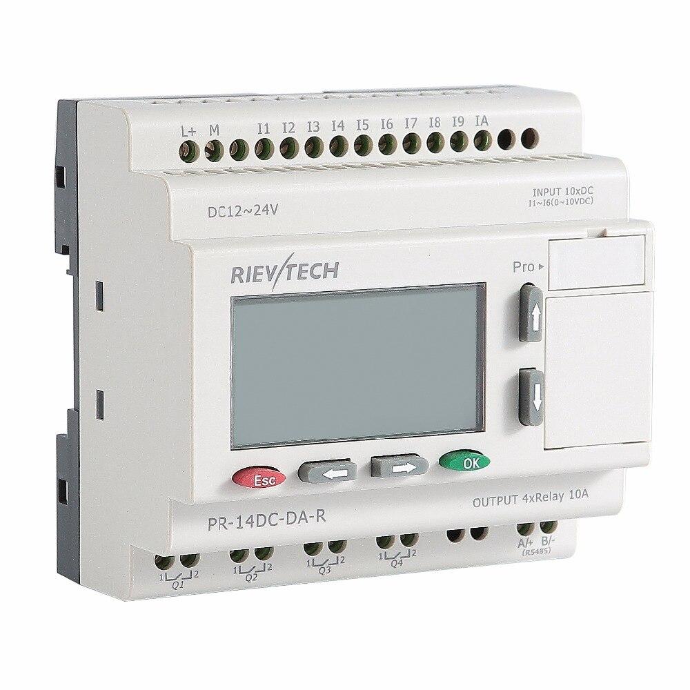 RIEVTECH,Micro Automation Sulutions Provider. Programmable Relay PR-14DC-DA-R