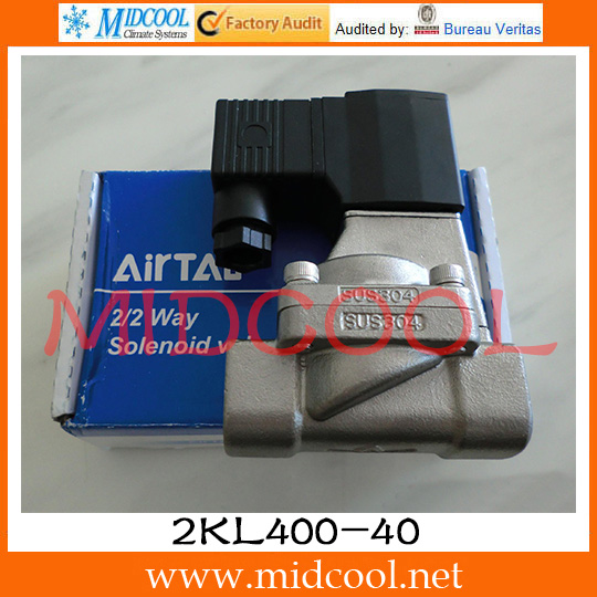 Original AirTAC Fluid control valve 2KL Series(Internally piloted and normally opened) 2KL400-40 original airtac control valve m3 series