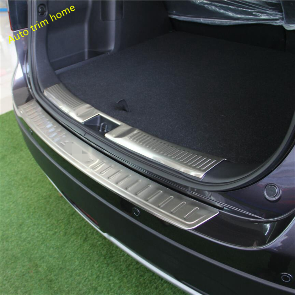 For Jeep Grand Cherokee Accessories 2014-2018 Steel Door Sill Protector Door Sill Guards Scuff Plate Trim 4pcs Old Design