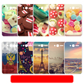 For Pixi4 4034D Solf Case For Alcatel One Touch Pixi 4 4.0 4034D Shell Phone Cover Capa Fundas Pattern Protection for pixi4 4.0