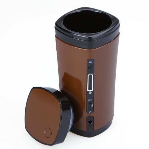 PHFU Rechargeable USB Powered Coffee Tea Cup Warmer Automatic Stirring