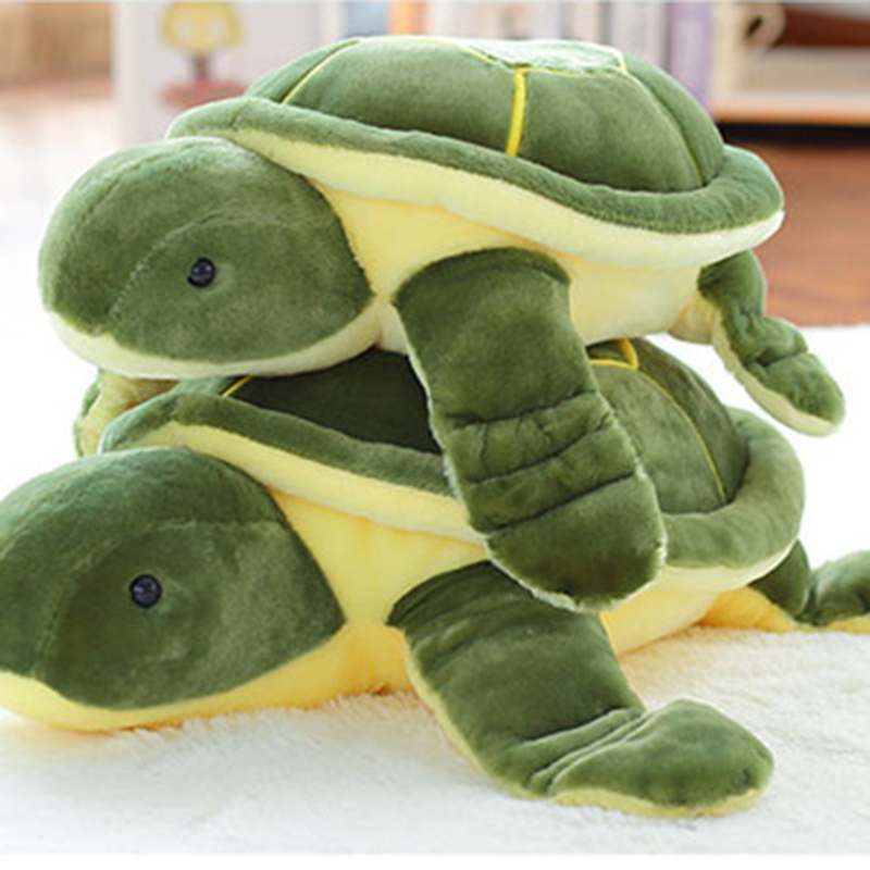 2017 New Cute Tortoise Plush Toys Soft Stuffed Turtle Doll Plush Pillow Staffed Children Toys Best Gift For Kids C62