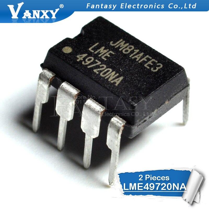 2PCS LME49720NA DIP8 LME49720 DIP-8 49720NA DIP LME49720N