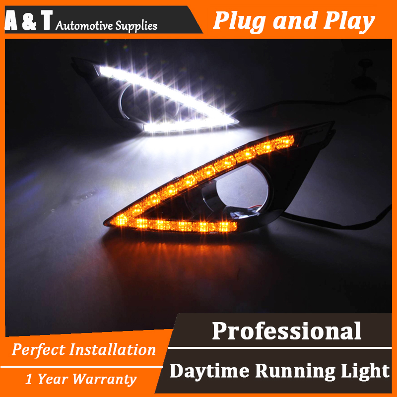 car styling For Toyota corolla EX LED DRL For corolla EX led fog lamps daytime running light High brightness guide LED DRL for lexus rx gyl1 ggl15 agl10 450h awd 350 awd 2008 2013 car styling led fog lights high brightness fog lamps 1set