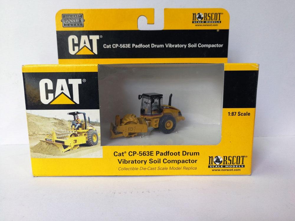 55156 1: 87 CAT CP-563E Padfoot барабан Вибрационный уплотнитель почвы