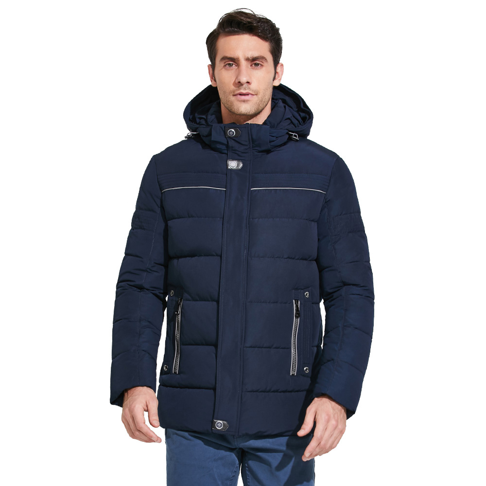 ICEbear 2018 Fashion Winter Jacket Men's Brand Clothing Jacket High-quality Thick Warm Men Winter Coat Down Jacket 17MD811 icebear 2018 men s apparel winter jacket men mid long slim thick warm top quality waterproof zipper brand coat for men 17md942d