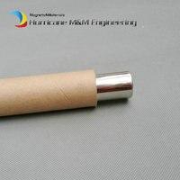 Dia. 25x500 мм неодимовый магнитная палочка 6 К 12 К GS цилиндр фильтр сильный неодимовый магнит Нержавеющаясталь 304 гигиенические удаления желез