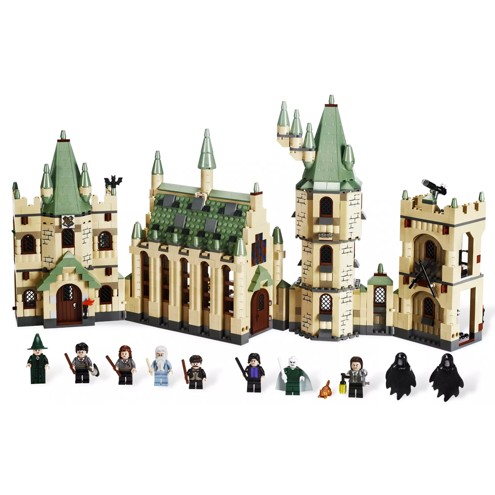 16030 1340Pcs Creative Movies The Hogwarts castle Set Fit Legoness 4842 Building Blocks Bricks Toys for kids Birthday DIY gifts
