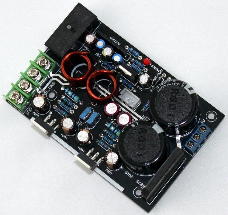 Original LM1875T 30 Watt + 30 Watt 2,0 C1237 BTL LAUTSPRECHERSCHUTZSCHALTUNG fieber endverstärkerbrett
