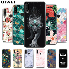 For Wiko View 3 Case Slim Cartoon Painted Soft TPU Back Cases Fundas F