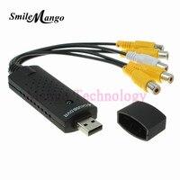 2016 Easy Cap Recorder Capture Card External 4 Channel USB 2 0 DC60 TV DVD VHS
