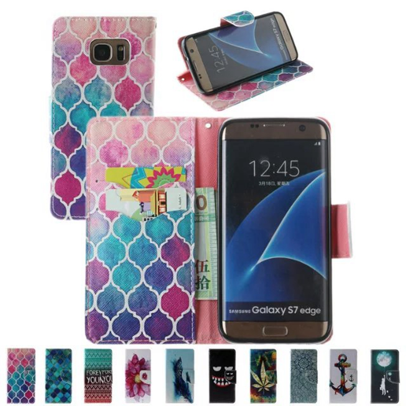 New Wallet PU Leather Cover <font><b>Case</b></font> For <font><b>Samsung</b></font> galaxy S6 S7 Edege <font><b>A3</b></font> A5 J1 J3 J5 2016 G530 G360 <font><b>Case</b></font> Flip <font><b>Phone</b></font> Shell Back Cover