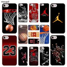 628eaa82d050 MOUGOL Forever Legend Michael Jordan Fashionable transparent Case Cover for iPhone  XS Max XR X 6