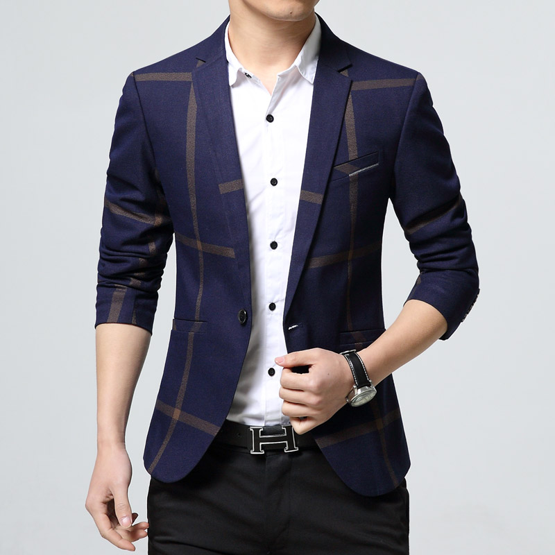 4c8b08e511cf68 2017 New Spring Luxury Business Casual Suit Men Blazers Set ...