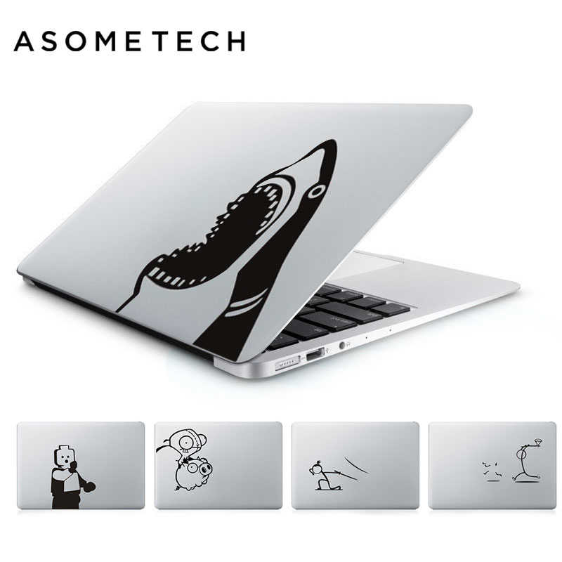 Nouveau autocollant pour ordinateur portable Design drôle pour Apple Macbook Pro Air Retina 13 15.4 11 12 MAC vinyle PC ordinateur portable peau autocollant