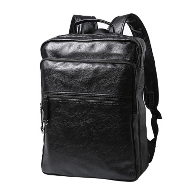 2017 New Leather Backpacks For Male Travelling bags School bag Mochila  Escorlar BagWin 8744ca8f59