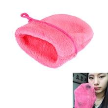 Reusable Microfiber Facial Cloth Face Towel Makeup Remover Cleansing Glove Tool HB88