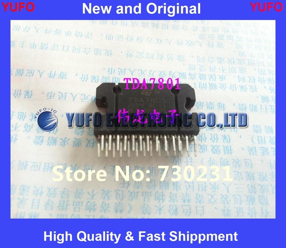 2 шт. Новые подлинные TDA7801 чип усилителя автомобиля Бесплатная доставка (YF0817)