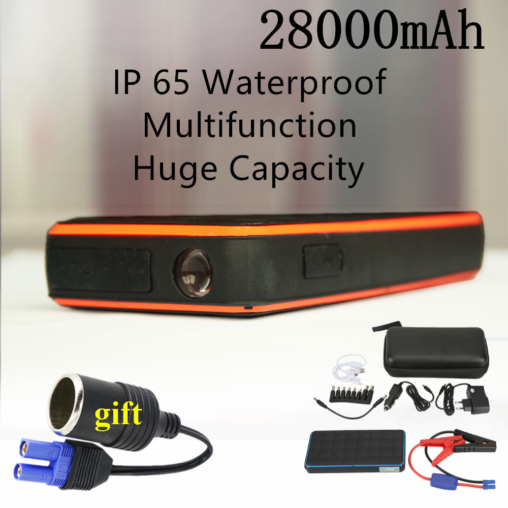 New Car Jump Starter 1000A Power Bank 12V Charger for Car Battery Petrol Diesel Waterproof Emergency