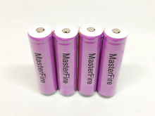 цена на MasterFire 4pcs/lot Protected Sanyo UR18650ZTA 3.7V 18650 3000mAh Rechargeable Battery Lithium Batteries with PCB For Flashlight