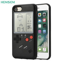 Tetris Game Console Appearance Unique Multi Phone Case For IPhone X 7 6 8 Plus Case