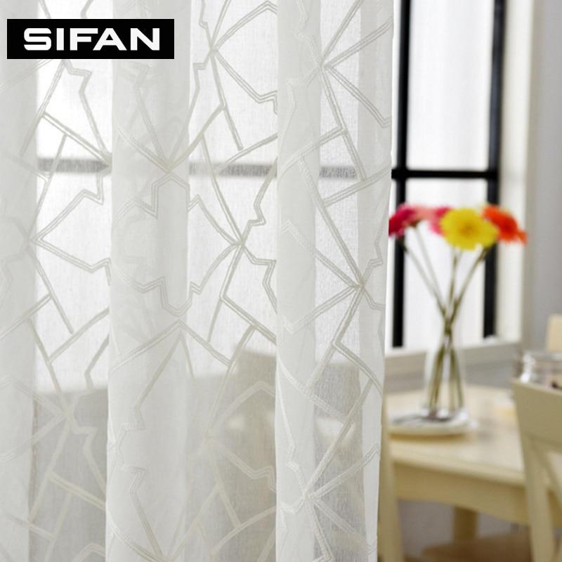 Online kopen Wholesale moderne geometrische gordijnen uit China ...