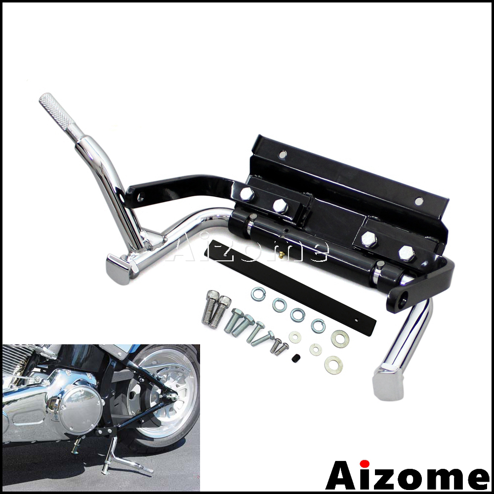 Motorcycle Adjustable Center Stand For Harley Touring Road King Road Glide Electra Glide Ultra Classic 1999