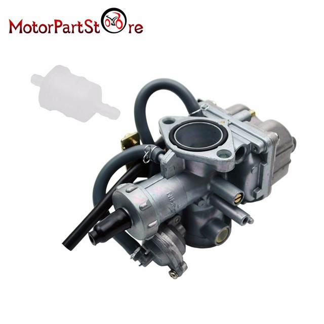 New Carburetor with Fuel Filter for Honda TRX 250 TRX250 Recon 1997 ...