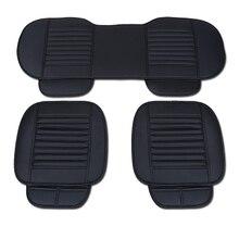 Кожаные сиденья автомобиля коврик охватывает подходят для Granta Калина Priora Нива для Леон IBIZA Altea для Mokka Corsa Astra авто сиденье Подушки крышка