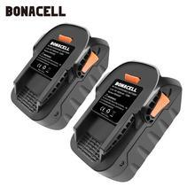 Bonacell 4000mAh 18V Li-ion Rechargeable Power Tool Battery for RIDGID R840083 R840085 R840086 R840087 Series AEG Series L10 цена и фото