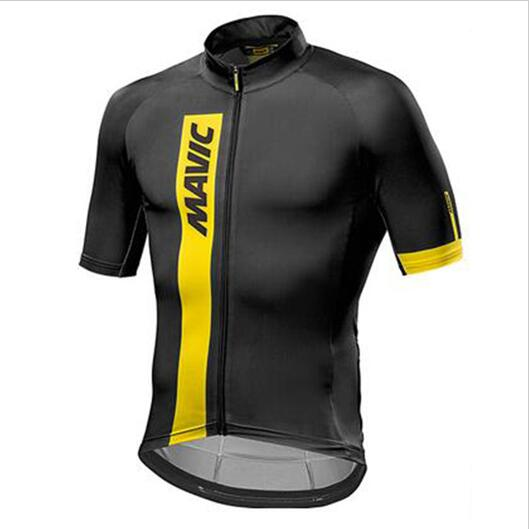2018 MAVIC team Radfahren cycling jersey Januar men women Summer Ropa  ciclismo professional riding clothes XS 4XL clothing-in Cycling Jerseys  from Sports ... f74528ce9