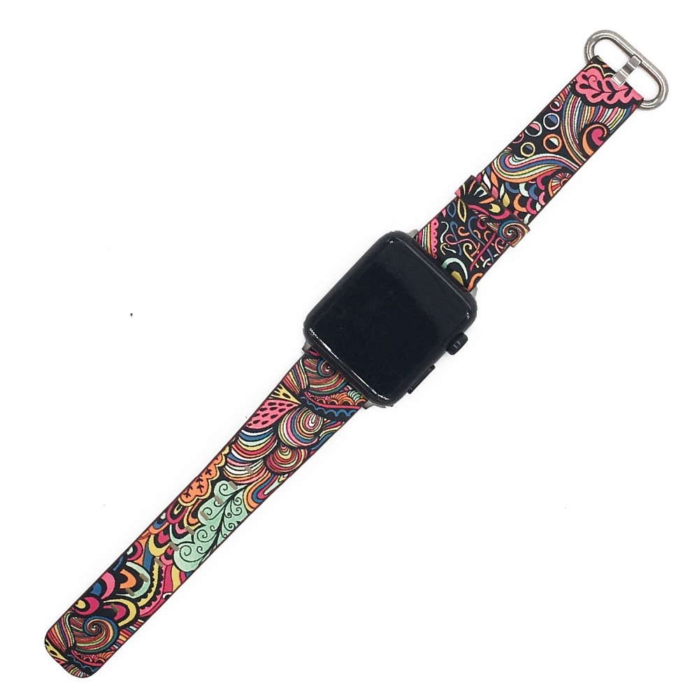 Floral Print Band for Apple Watch 30