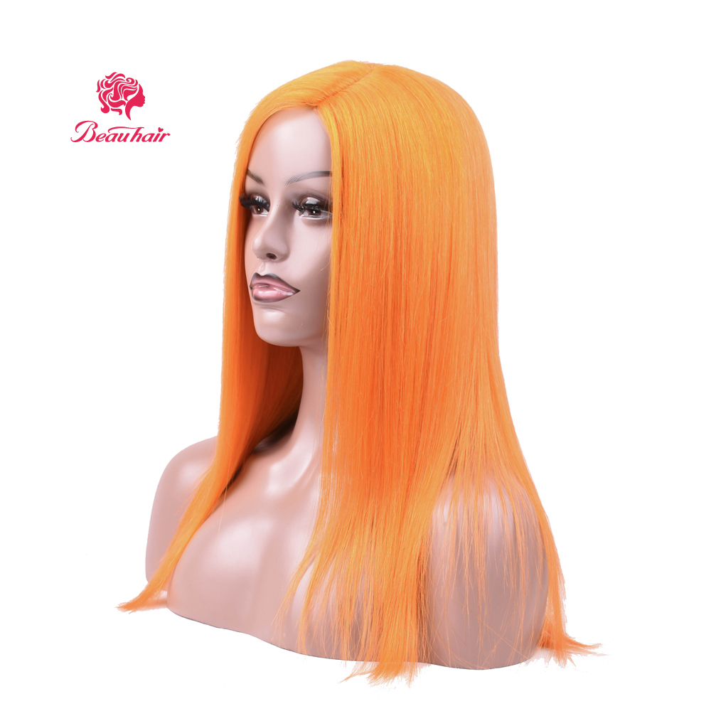 Cosplay Wig Halloween Hairs Brazilian Straight Human Hair Wigs For Women Remy Human Hair Long Wigs Color Hair Free Shippping