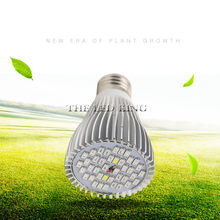 4pcs/Lot Full Spectrum 28W 120W LED Grow Light E27 E14 GU10 SMD5730 Plant Lamp For Seedling Vegs Growth Flower Hydroponic System(China)