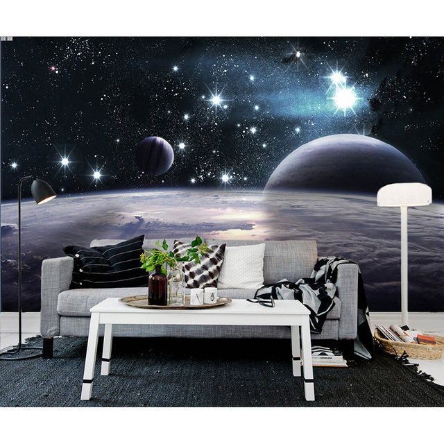 mode gro e weltraum fototapete 3d wandbild tapete f r. Black Bedroom Furniture Sets. Home Design Ideas