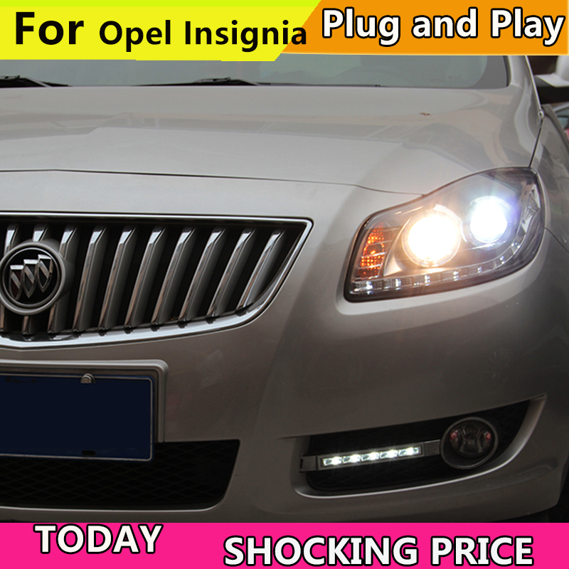 For Buick Regal GS Verano Opel insignia LED Head Light For GS style 2009 2013 year