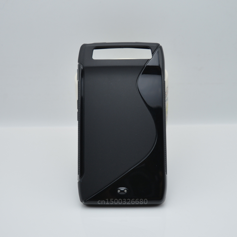 Simple And Fashion TPU Soft Gel S-Line Wave Anti-skid Rubber Matte Cover Case Skin For Motorola Droid Razr MAXX Verizon