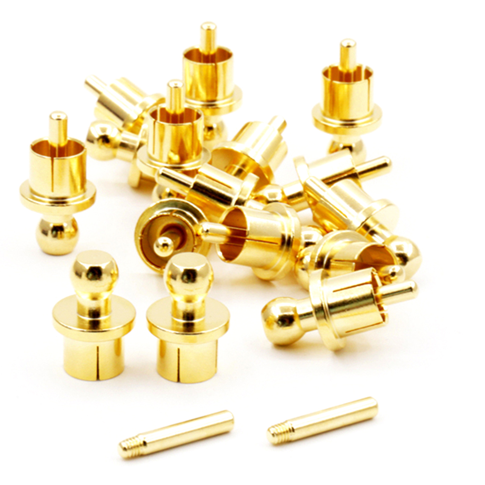 Digital Cables Reliable Rca Cap Protector Dust Proof Gold Plated Noise Stopper Shielding Caps 8/pcs Complete Range Of Articles