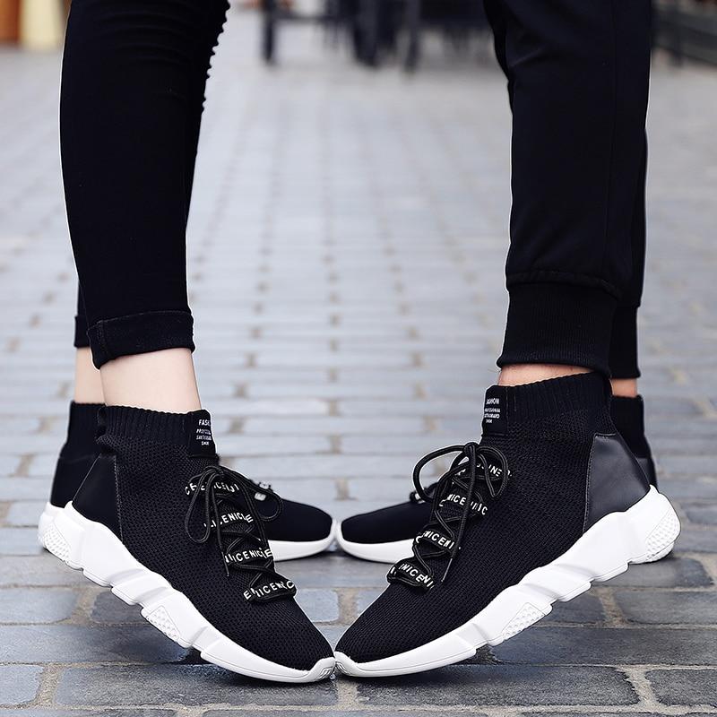 Black White Malla Moda Unisex Hombre red Casual Zapatillas Verano Hombres Transpirable Al Libre Cómodo black Para Aire Zapatos Calzado Ligero Caminar Masculina White xAAvXUwB